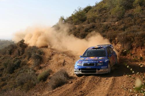 组图:WRC塞浦路斯烽烟滚滚 金戈铁马踏破长风