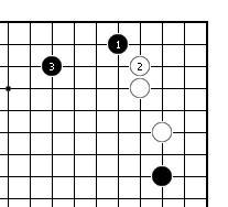 围棋周刊棋局--实战手段之15:先靠的骗招