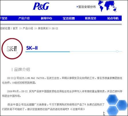 宝洁中国网站一度被黑 黑客留下恶搞语言(图)