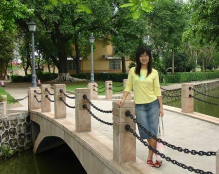 广东外语外贸大学参赛选手:任迎新