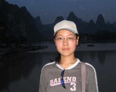 广东外语外贸大学参赛选手:吴静玲