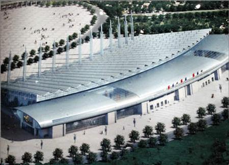 第五届天津国际汽车展介绍及会展中心效果图