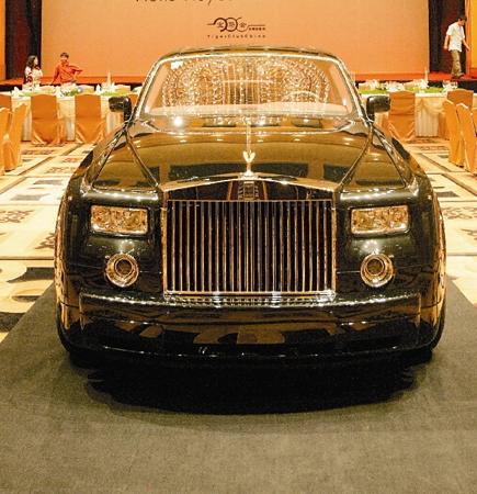 广州奢侈品展将举行 价值三千万车王将参展(图)