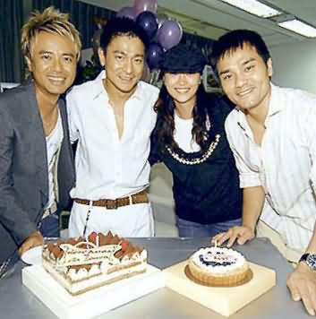 同事举行惊喜派对 刘德华45岁生日照片曝光(图)