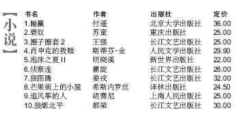 新京报图书排行榜 9月22日 9月2..