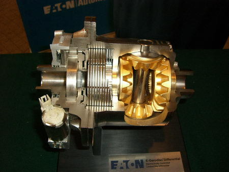 两驱强于四驱,伊顿锁式差速器媒体体验