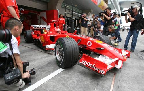 F1中国站首次练习赛结束 伍尔兹最快舒马赫第四