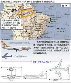 巴西客机失踪