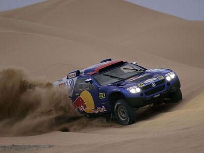 达喀尔传奇赛车——途锐赛车亮相西安车展