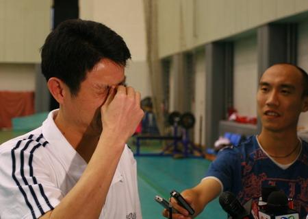 图文:女排公开训练课 陈忠和坦诚最近很疲劳