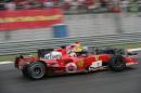 图文:舒马赫获F1中国站冠军 马萨追赶库塔