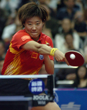 女乒世界杯新科冠军出炉 郭焱胜张怡宁首次夺冠