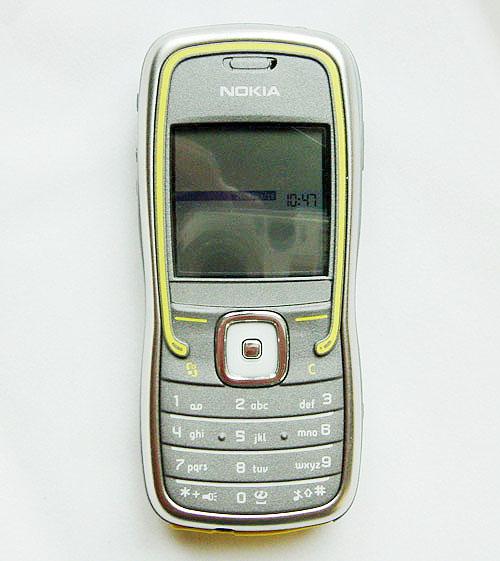 我为运动狂 诺基亚5500三防手机详尽评测