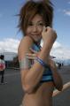 图文:F1日本大奖赛美女车模广角镜 红肥绿瘦4