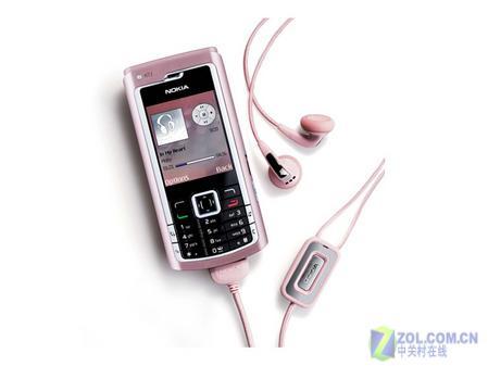 红粉佳人黑白配 六款热门彩色手机导购