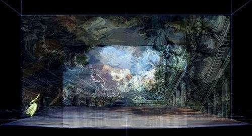 图:芭蕾舞剧《仲夏夜之梦》舞美设计—1