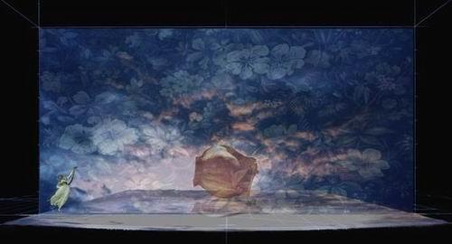 图:芭蕾舞剧《仲夏夜之梦》舞美设计—2