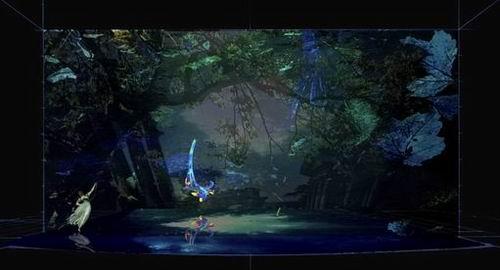 图:芭蕾舞剧《仲夏夜之梦》舞美设计—5