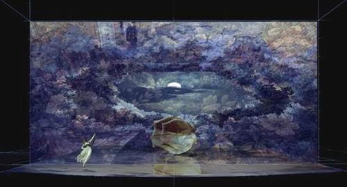 图:芭蕾舞剧《仲夏夜之梦》舞美设计—7