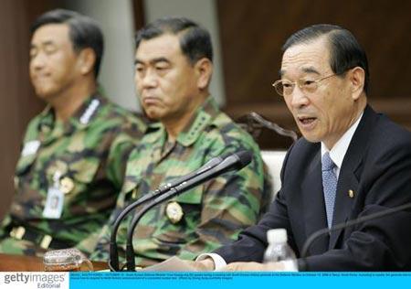 韩国国防部召开会议 商讨朝鲜核试验对策(组图)