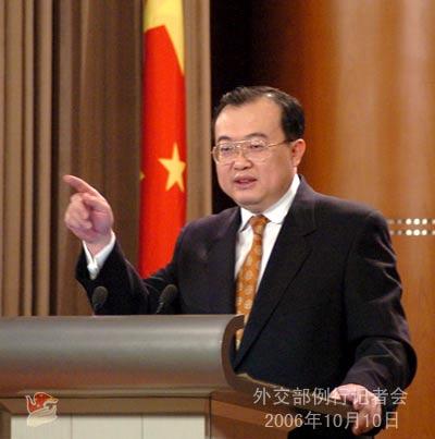 10月10日外交部发言人在例行记者会上答记者问