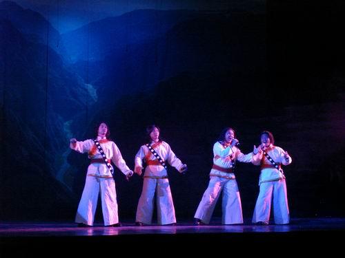 图:大型原生态歌舞《云岭天籁》剧照—19