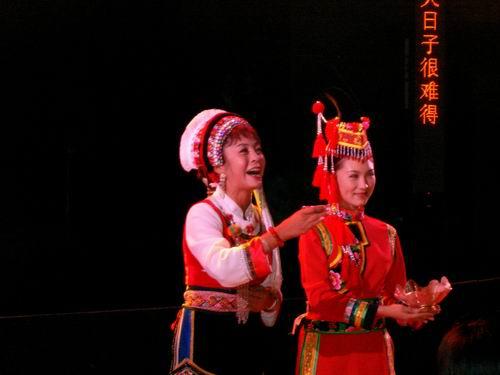 图:大型原生态歌舞《云岭天籁》剧照—22
