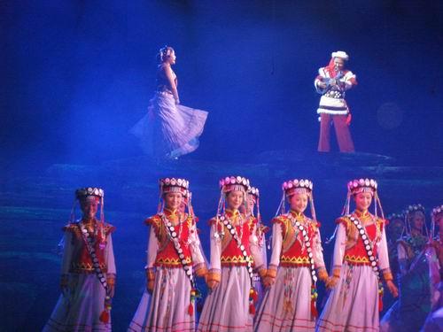 图:大型原生态歌舞《云岭天籁》剧照—26