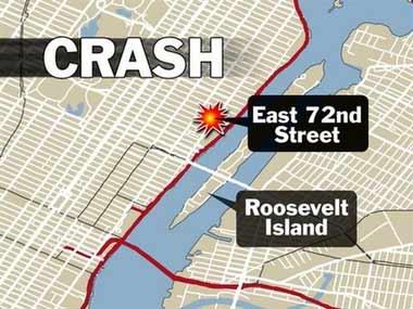一架小飞机撞进美国纽约一座大楼 暂无伤亡消息
