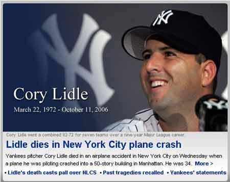 图文:纽约曼哈顿撞楼小飞机驾驶人查明