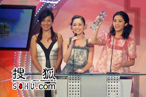 搜狐快讯: 香港地区最佳组合乐队-TWINS