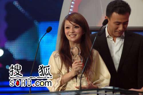 台湾地区最受欢迎女歌手-张韶涵