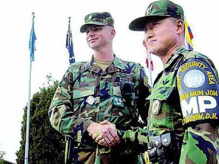 朝鲜指责美国暗集近三万美兵 掩饰攻朝计划(图)