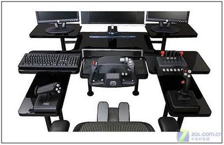 顶级玩家必看 超强游戏电脑桌惊爆双眼