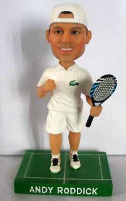 摇头娃娃玩具进军网球 罗迪克公仔即将问世(图)