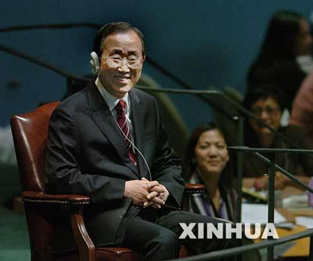 潘基文计划任命朝鲜半岛特使 欲访朝会晤金正日