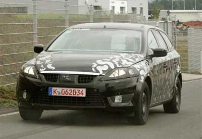 新款蒙迪欧旅行版量产车清晰谍照曝光