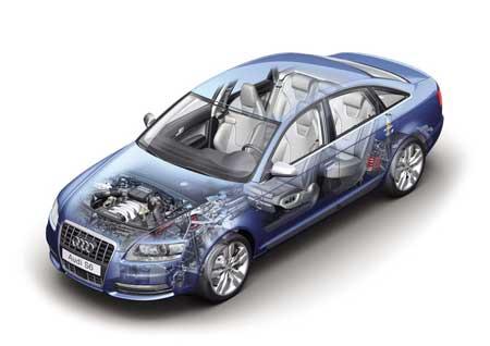 奥迪S8、S6、RS4等顶级运动车梯队(图)