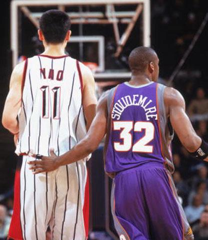 姚明小霸王将同时复出 姚斯对决将续写NBA传奇