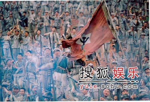 电影《我的长征》精美剧照-胜利的旗帜