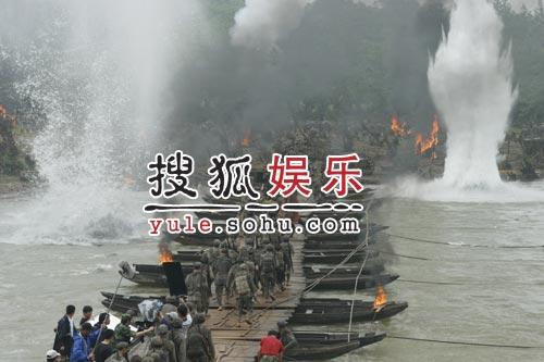 电影《我的长征》拍摄花絮-苦战湘江