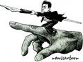 傅红革国际时事漫画