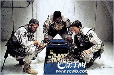 美军士兵被曝狂盗萨达姆黑金 私吞千万美金(图)