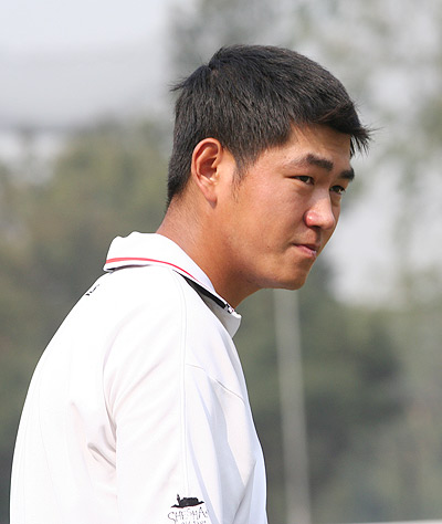 中国高尔夫球星:李超