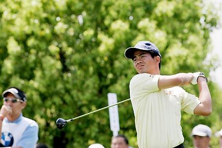 中国高尔夫球明星:梁文冲