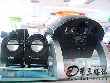 漫步者音箱: 音箱中的异形!漫步者E1100 2.1音箱热销