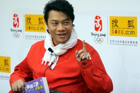 蔡康永搜狐爆猛料:盼着《康熙来了》停掉(图)