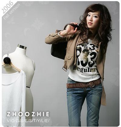服装:时尚前卫 韩版西装外套