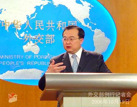 外交部:朝鲜向中国通报将进行四次核试报道不实