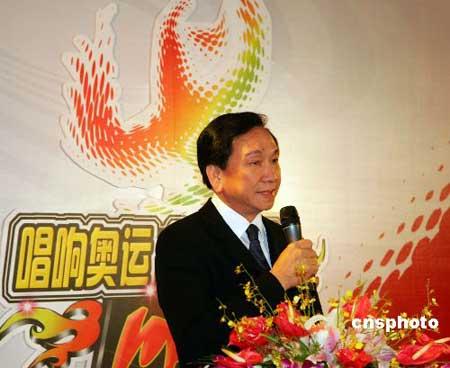 吴经国:为08奥运火炬接力经台湾竭尽全力(图)